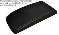 Green stitch cuir peau de couverture accoudoir Chevrolet Cobalt PONTIAC fits G5 05-10