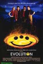 "MOVIE POSTER~Evolution 2001 Double Sided D/S Original Film Sheet 27x40"" One New~"