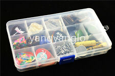 Large Transparent Plastic Picks Case Box Holder Save Guitar Picks&Accessories