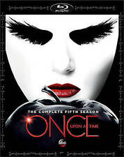 Once Upon A Time: The Complete Fifth Season 5 (Blu-ray Disc, 2016, 5-Disc Set)