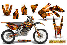 HONDA CRF 250 X CRF250X 2004-2016 GRAPHICS KIT DECALS CREATORX INFERNO ONP