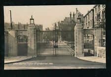 Gloucestershire Glos CLIFTON High School New Gates unused 1932  RP PPC Bromhead