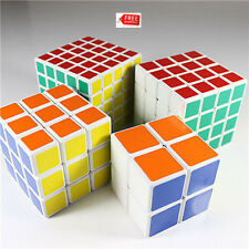 Rubiks Cube Puzzle Brain Game Speed Twist Magic Pack Set 2x2 3x3 4x4 5x5