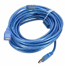10 FT USB 2.0 A TO A MALE FEMALE EXTENSION MF CABLE 10 Feet USB2 Extension Cord