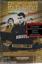 DVD=CAMPIONATO IO TI AMO=2002/03=CON INCLUSO FASCICOLO ALMANACCO DEL CALCIO