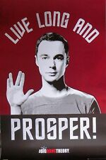 BIG BANG THEORY-Live Long And Prosper-Licensed POSTER-90cm x 60cm-Brand New