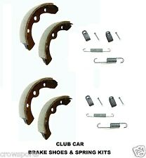 CLUB CAR GOLF CART BRAKE SHOES + SPRING KITS 1995 +  DS & PRECEDENT GAS ELECTRIC
