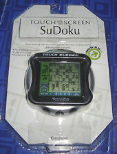 Sudoku Touch Screen Electronic Handheld Travel Game Excalibur W Stylus New