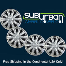 "Honda Odyssey Style 15"" Chrome Hubcaps Wheel Covers Hub Caps # 420-15C NEW SET 4"