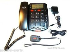 EMERGENCY PHONE MEDICAL ALERT w/ TWO WAY SPEAKER PHONE