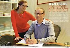 Coupure de Presse Clipping 2014 (4 pages) Jean Tirole Nobel Discret