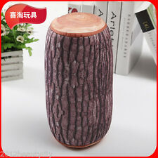Home Natural Camping Cylinder Wood Design Log Soft Cushion Pillow