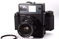 [Exce+++++] Mamiya Universal Press Black + SEKOR P 75mm F/5.6 from Japan #321