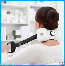 Wireless Rechargeable Neck/Shoulder Massager with Shiatsu Pressure Point - New