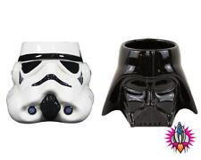 STAR WARS DARK SIDE STORMTROOOPR DARTH VADER TWIN SET SHAPED 3D MUGS COFFEE MUG