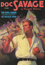 Doc Savage #19 King Maker & The Freckeled Shark Robeson Lester Dent Sanctum PB