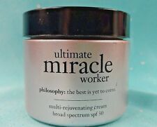 2 oz *PHILOSOPHY* ~ULTIMATE MIRACLE WORKER~ Multi-Rejuventating Face Cream SPF30