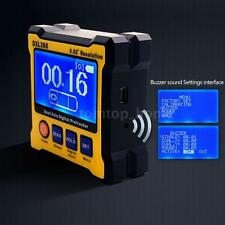 Dual Axis Digital Magnetic Angle Protractor Gauge 0.02° Resolution 100-240V F27A