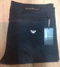 Men's Emporio Armani Jeans - slim fit ( black) Waist 34 Length 34