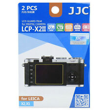 JJC LCP-X2 Hard Polycarbonate LCD Guard Film Screen Protector Cover Leica X2 X1