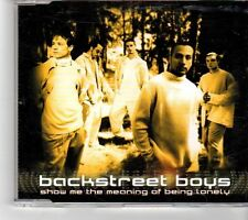 (FK508) Backstreet Boys, Show Me The Meaning Of Being Lonely  - 1999 CD