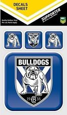 620050 CANTERBURY BULLDOGS NRL SET OF 4 APP ICON DECALS CAR STICKERS ITAG