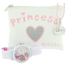 Tikkers Girls Princess 3D Watch,Tiara Necklace &Glitter Purse CHRISTMAS Gift Set