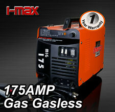 NEW  MODEL MIG 175 Amp GAS / GASLESS WELDER ONE YEAR WARRANTY