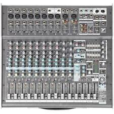 YORKVILLE PM2012 Desktop 12 Channel 2000w Stereo Dual FX Audio Mixer