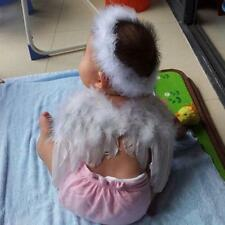 6-18month Baby Angel Feather Wings Cupid Fairy  Kids Party Favors Photo Props -Q