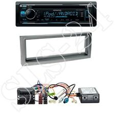 Kenwood KDC-300UV + Citroen/Peugeot 1-DIN Blende anthrazit +CAN-Bus-Adapter
