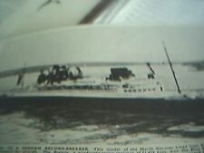 ships 1937 picture model german record breaker breman lloyd liner