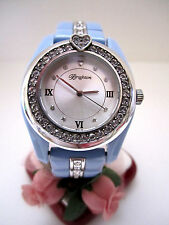 "Brighton ""DANA POINT"" Blue/Crystal Watch (MSR$130) NWT/Tin"