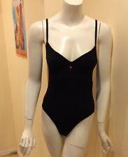 Tomas Maier  France 38 US Black Nylon Spandex Lingerie Body Suit