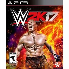 WWE 2K17 PlayStation 3 PS3 New Sealed