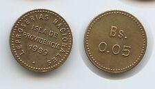 G8962 - Venezuela Leper Colonies 0.05 Bolivar 1939 KM#L19 Isla de Providencia