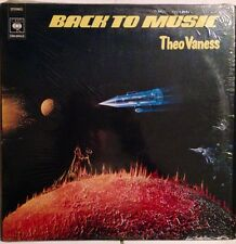 THEO VANESS - Back To Music - Vinile Lp - 1978 NEW - Made In Francia - CBS 82653