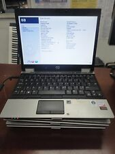 "LOT OF 3 HP Elitebook 2530P 12.1"" Core 2 Duo 1.60GHz  2GB  DVD-RW  Wi-Fi  No O/S"