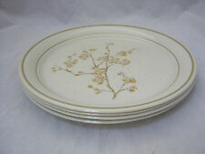 "Corning Ware Cornerstone CHINA BLOSSOM 4-10 1/4"" Dinner Plates Retired USA ec"