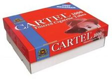 Cartel 1000 Filtered Cigarette Tubes Red