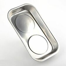 """Large  Magnetic Parts Dish Tray 9-3/8"""" x 5-3/8"""" Large Magnet auto tool"""
