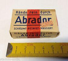 alte Pappschachtel,Abrador,Hände rein,m.Lanolin,Zubehör,Kaufladen,Kaufmannsladen