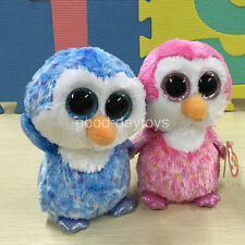 SET OF 2 PCS TY BEANIES BOOS Ice Cube Chillz 6 INCH Stuffed Plush doll