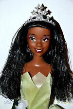 DISNEY PRINCESS TIANA BARBIE DOLL AA AFRICAN LONG HAIR