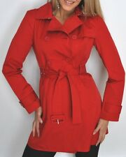 Kenneth Cole Trench Coat Rain Coat Red XL XLarge NWT