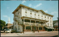 LAMBERTVILLE NJ House Old Inn Vintage 1950's Cars Hotel Restaurant Postcard