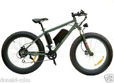 "FAT BIKE ELETTRICA ""ECOPED"" BATTERIA LITIO, 500W, FRENI DISCO IDRAULICO"