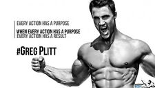 "047 Greg Plitt - American Fitness Model Actor 43""x24"" Poster"