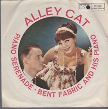 "7"" Bent Fabric And His Piano Alley Cat / Piano Serenade 60`s Metronome"