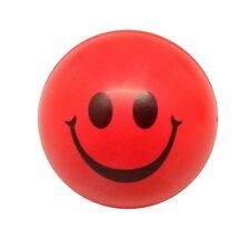 2x(Happy Red Smile Face Bouncy Ball SH